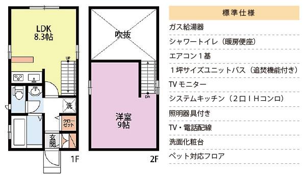 ワンズハウスの仕様について 標準仕様